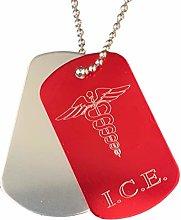 Emblems-Gifts Personalised I.C.E. Medical Alert