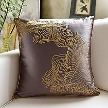 Embroidered Pillow Sofa Cushion Cover Bedroom