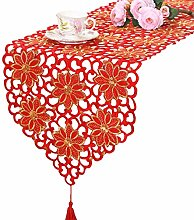 Embroidered Table Runners Multifunction Rectangle