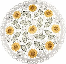 Embroidered Table Topper Doily Table Centerpiece