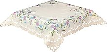 Embroidered Tablecloth 85 x 85 cm (33 x 33 inch)