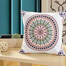 Embroidery Cushion Cover Pillowcover 45x45 Cotton