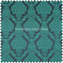 Embroidery Feel Raised Textured Damask Pattern
