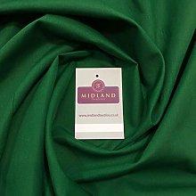 Emerald Green PolyCotton Fabric - Dress Craft 44