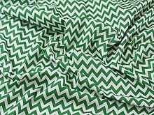 Emerald Green / White - 1/2 Meter | CHEVRON