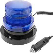 Emergency strobe warning light for cars with
