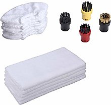 EMEXIN Accessory Set of 4 Round Brushes Cotton