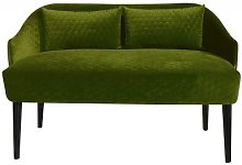 Emi Loveseat Happy Barok Upholstery: Green