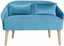 Emi Shetland Mini Children's Sofa and Ottoman