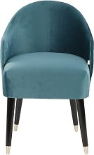 Emi Tub Chair MONKEY MACHINE Upholstery: Turquoise