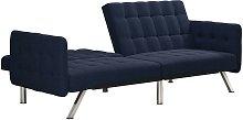 Emily Convertible Click Clack Split Back Sofa Bed