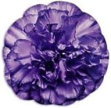 Emily Evans - Purple Flower Bouquet Round Placemat