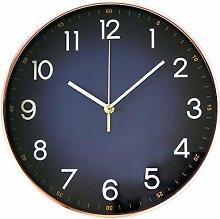 EMITDOOG Wall Clock 12'' Modern Rosegold