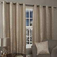 Emma Barclay Athens Eyelet Curtain 90 X 72 inches