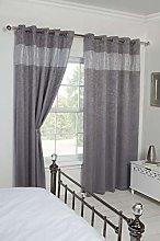 Emma Barclay B/out Eyelet Curtain Diandra 66 X 54