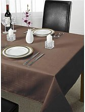 Emma Barclay Chequers Tablecloth, Chocolate, 70 x