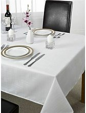 Emma Barclay Chequers Tablecloth, White, 70 x 108