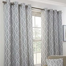 Emma Barclay Kew Eyelet Curtain 46 x 72 inches