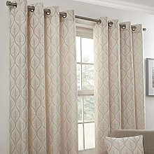Emma Barclay Kew Eyelet Curtain 90 x 72 inches