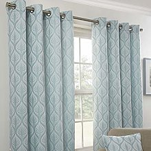 Emma Barclay Kew Eyelet Curtain Panels (Pair)