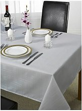 Emma Barclay Linen Silver Grey Table Cloth Plain