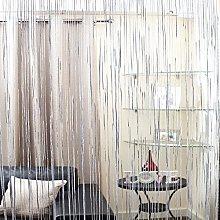 Emma Barclay Sparkle String Door Curtain Panel,