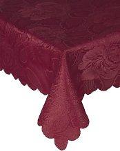 Emma Barclay Table Cloth Damask Rose 50 x 70 inch