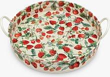 Emma Bridgewater Strawberries Large Handle Round
