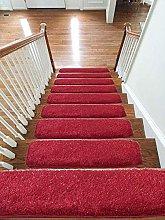 emmahome Shaggy Glitter Carpet Stair Treads