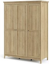 Emmy 3 Door Wardrobe August Grove