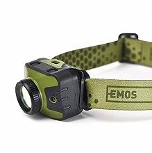 EMOS Focusable Headlamp with Red, IP43 Waterproof