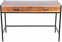 Emoshayoga Computer Table Oak Brown Computer Desk