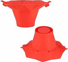 Emoshayoga Corn Popper Popcorn Bowl Red DIY for