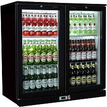 Empire Commercial Hinged Double 2 Door Back Bar