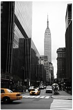Empire State Building Photographic Print on Canvas