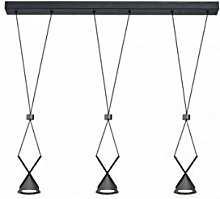 Emporio Pendant Light with 3 Bulbs 41 cm