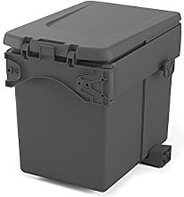 Emuca 8935423 Built-in Waste Bin for Cabinet with