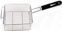 EMVANV Stainless Steel Deep Fat Fryer Basket with