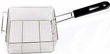 EMVANV Stainless Steel Deep Fat Fryer Basket with