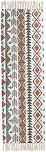 EmyTock Carpet,Vintage Cotton Area Rug,Hand Woven