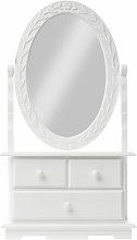 Encanto Jewellery Armoire with Mirror Lily Manor