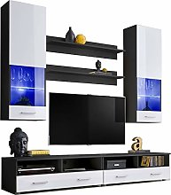 Enchanting Living Room Set - Floor Cabinet with