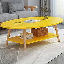 End Table,2-Tier Round Sofa Side Snack Table Small
