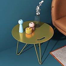 End Table, Metal Coffee Table, Sofa Table Small