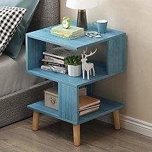 End Tables Wooden Nightstand Modern Bedside Shelf