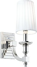Endon Domina - 1 Light Indoor Candle Wall Lamp