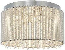 Endon Galina - 10 Light Flush Light Chrome Plate &