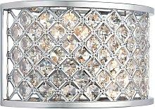Endon Hudson - 2 Light Indoor Wall Light Chrome