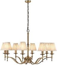 Endon - Interiors Stanford Antique Brass 8 Light