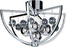 Endon Lighting - Endon Muni - 1 Light Flush